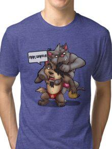MAH WAFFLE!!! Tri-blend T-Shirt