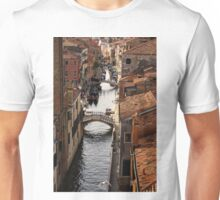 Red Roofs of Venice Unisex T-Shirt
