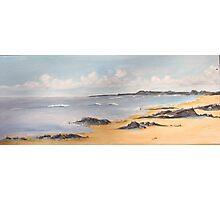 Hemmick Beach, Cornwall, UK Photographic Print