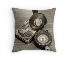T.G MKIII Compass Throw Pillow