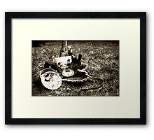 Stuff Framed Print