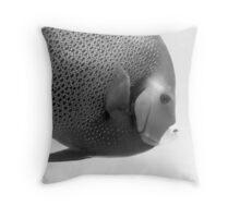 Grey angel, Key Largo, 2005 Throw Pillow