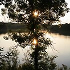 Sunset over the Englewood Reserve, Englewood, OH, 2005 by jackmbernstein