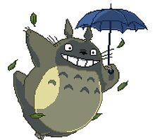 Totoro flew by Moontree