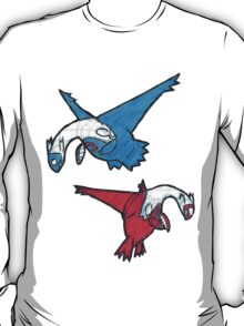 Latias and Latios T-Shirt