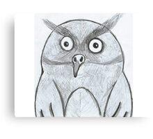 An OWL! Canvas Print