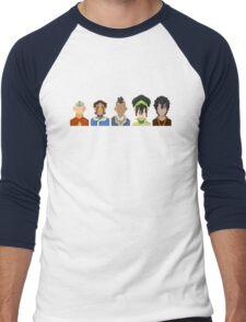 Avatar the Last Airbender Trixelart group T-Shirt