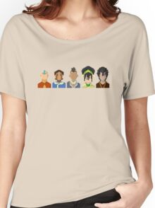 Avatar the Last Airbender Trixelart group Women's Relaxed Fit T-Shirt