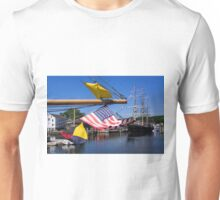 Summer Seaport Unisex T-Shirt