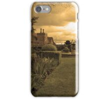 Sepia cottage  iPhone Case/Skin