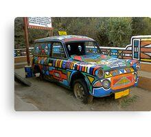 Ndebeli taxi Canvas Print