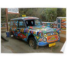 Ndebeli taxi Poster