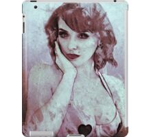 Drawing Debra iPad Case/Skin