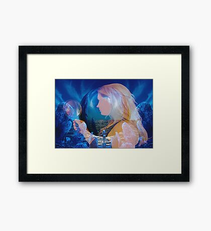 Reflection Dream Framed Print