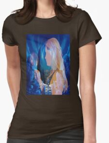 Reflection Dream Womens Fitted T-Shirt