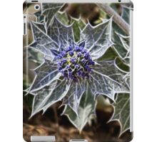 Sea Holly in fractalius iPad Case/Skin