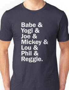 New York Yankee Legends - LIMITED Unisex T-Shirt