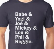 New York Yankee Legends - LIMITED Unisex T-Shirt