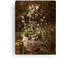 Vintage Planter Canvas Print