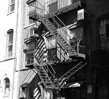 Fire Escape by Rayworsnop
