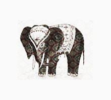 Festive lovely Elephant  Womens Fitted T-Shirt