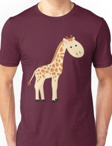 Watercolor baby giraffe Unisex T-Shirt