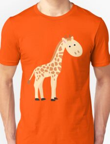 Watercolor baby giraffe T-Shirt