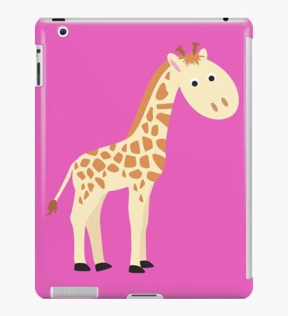 Watercolor baby giraffe iPad Case/Skin