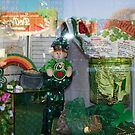 St. Patrick's Day Decorations in Dublin, Texas by Susan Russell