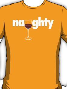 Naughty - Wine T-Shirt