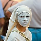 White mask by martinilogic