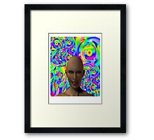 Its all in your mind Framed Print