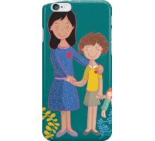 Mother love  iPhone Case/Skin
