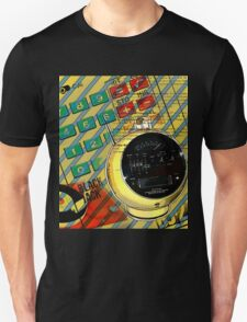 geek nerd alarm clock calculator retro Unisex T-Shirt