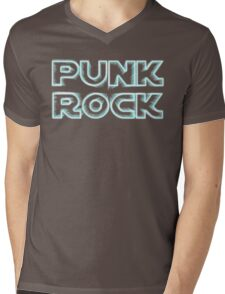 Punk Rock Mens V-Neck T-Shirt