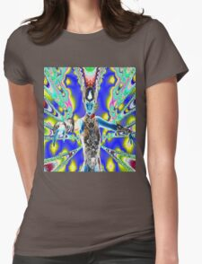 Warrior in Colour Womens Fitted T-Shirt