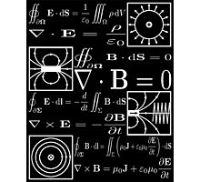 Maxwell's Equations Photographic Print