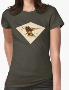 ANDROID HUMMINGBIRD Womens Fitted T-Shirt