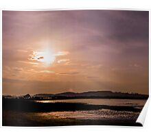 Sherbet Skies Poster