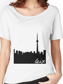 Toronto Skyline Women's Relaxed Fit T-Shirt