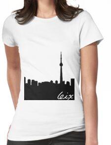 Toronto Skyline Womens Fitted T-Shirt