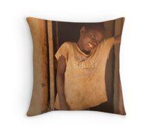 Dumisani, Malawi Throw Pillow