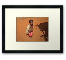 Patrick, Malawi Framed Print