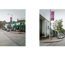 Melrose Avenue + Westmount Drive, West Hollywood, Los Angeles, California, USA...narrowed. by David Yoon
