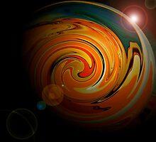 Cosmic Nr 2 by Sabine Jacobsen [SJArt]