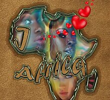 I love Africa by NadineMay
