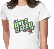 Floral Halfbreed - an Aaron Paquette Womens Fitted T-Shirt