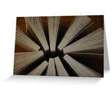 Here's A Novel Angle Greeting Card