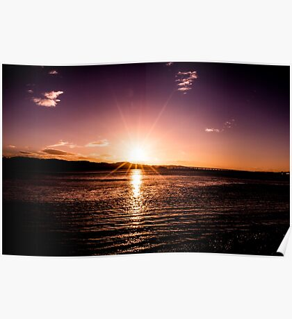 The Bright Sunset Poster
