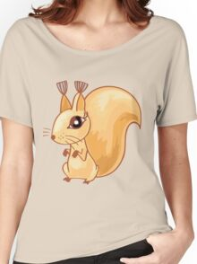Cute cartoon squirrel Women's Relaxed Fit T-Shirt